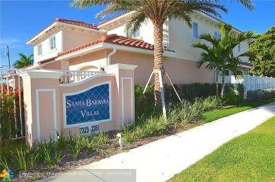 Pompano Beach Condo/Townhouse For Sale: 2341 SE 5th St #2341