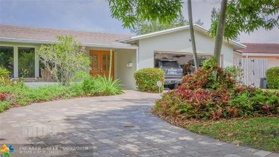 Fort Lauderdale Single Family Home For Sale: 5231 NE 17th Ter