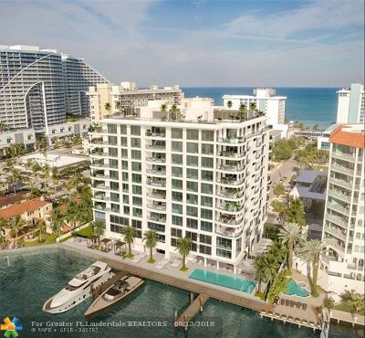 Fort Lauderdale Condo/Townhouse For Sale: 321 N Birch Rd #701