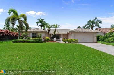 Coral Springs Single Family Home For Sale: 10968 NW 9th Mnr