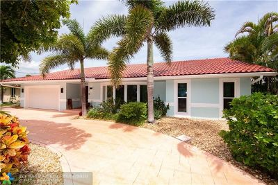 Fort Lauderdale Single Family Home For Sale: 17 Castle Harbor Is