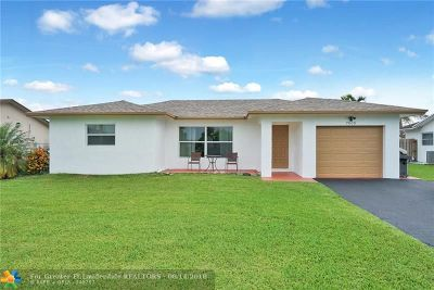 Tamarac Single Family Home For Sale: 7005 NW 98th Ter