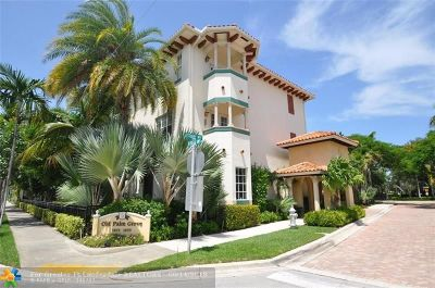 Delray Beach Condo/Townhouse For Sale: 1651 N Federal Hwy #1651