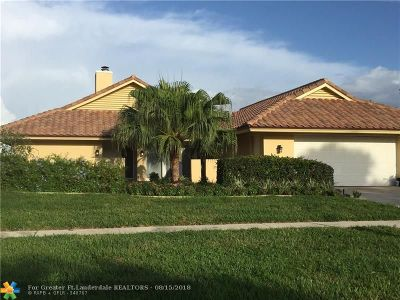 Boca Raton Single Family Home For Sale: 5868 Pinebrook Dr