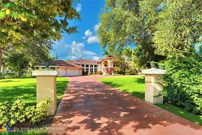 Coral Springs FL Single Family Home For Sale: $990,000