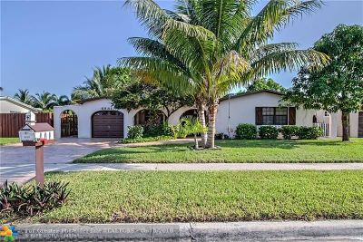 Margate Single Family Home For Sale: 6981 NW 5th Pl
