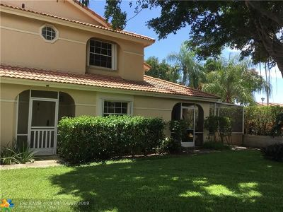 Deerfield Beach Single Family Home For Sale: 3368 Deer Creek Alba Cir