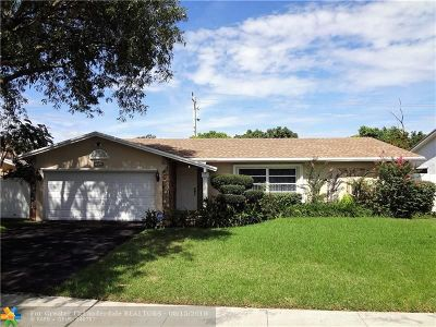 Lauderhill Single Family Home For Sale: 3750 NW 73rd Ave