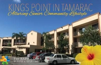 Tamarac Condo/Townhouse For Sale: 10450 E Clairmont Cir #312