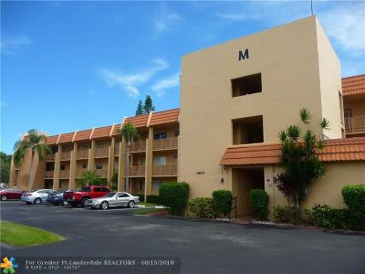Margate Condo/Townhouse For Sale: 6870 Royal Palm Blvd #201M