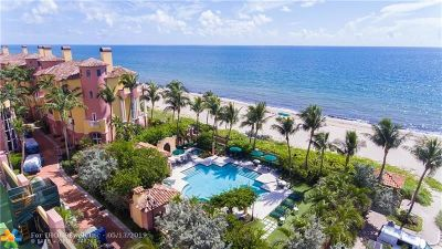 Fort Lauderdale Condo/Townhouse For Sale: 2110 N Ocean Blvd #18E