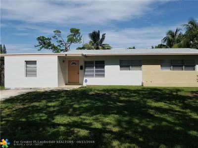 Fort Lauderdale Single Family Home For Sale: 1050 Park Dr