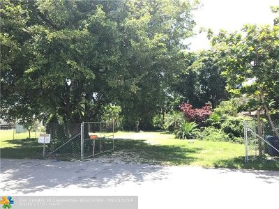 Wilton Manors Residential Lots & Land For Sale: 232 NE 23rd St