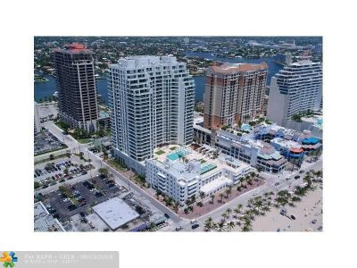 Fort Lauderdale Condo/Townhouse For Sale: 101 S Fort Lauderdale Beach Blvd #1002