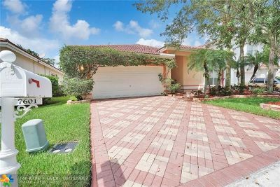 Margate Single Family Home Backup Contract-Call LA: 7601 NW 28th St