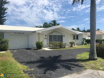 Deerfield Beach Single Family Home For Sale: 1223 SE 7th Ct