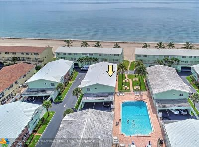 Lauderdale By The Sea Condo/Townhouse For Sale: 5400 N Ocean Blvd #22