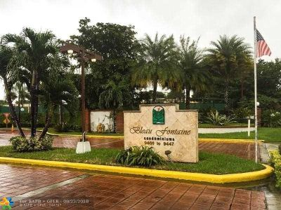 Miami Condo/Townhouse For Sale: 9405 Fontainebleau Blvd #208