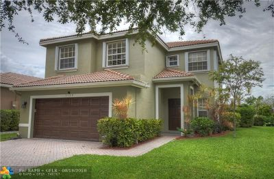 Coconut Creek Single Family Home For Sale: 7139 Crescent Creek Way