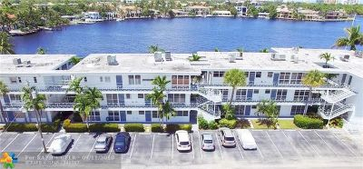 Fort Lauderdale Condo/Townhouse For Sale: 2727 Yacht Club Blvd #3D