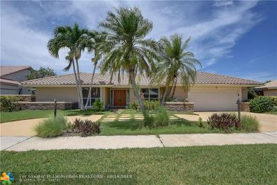 Deerfield Beach Single Family Home For Sale: 2183 Deer Creek Way