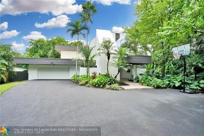 Plantation Single Family Home For Sale: 400 N Fig Tree Ln