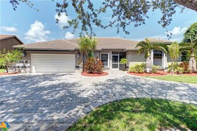 Coconut Creek Single Family Home For Sale: 5153 NW 49th Ave