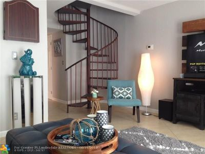 Fort Lauderdale FL Condo/Townhouse For Sale: $169,000