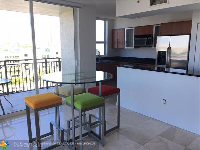 Fort Lauderdale Condo/Townhouse For Sale: 600 W Las Olas Blvd #707S