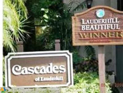 Lauderhill Condo/Townhouse For Sale: 7980 NW 50th St #101