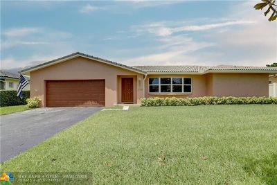 Coral Springs Single Family Home For Sale: 2746 NW 120th Way