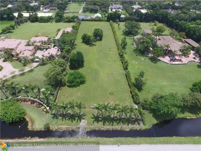 Southwest Ranches Residential Lots & Land Backup Contract-Call LA: 13400 Mustang Trl
