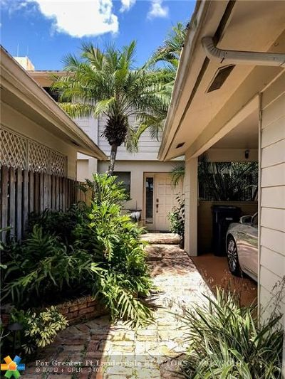 Wilton Manors Condo/Townhouse For Sale: 505 NE 19th St #505