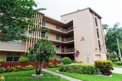 Margate Condo/Townhouse For Sale: 370 NW 76th Ave #407