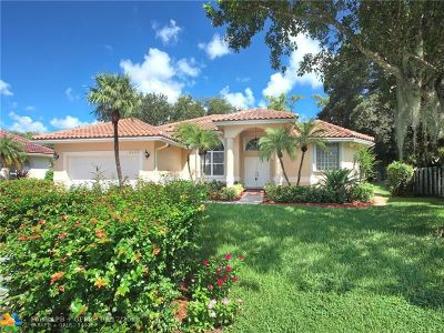Coral Springs Single Family Home For Sale: 4133 NW 66th Ter