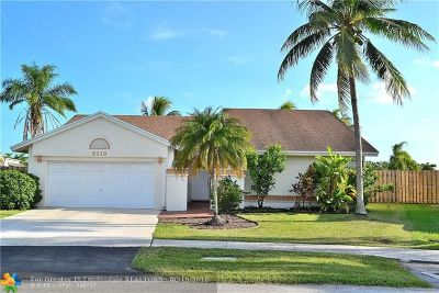 Sunrise Single Family Home For Sale: 3113 NW 107th Dr