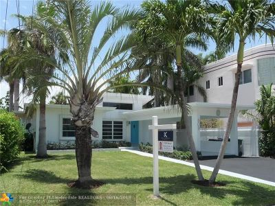Fort Lauderdale FL Single Family Home For Sale: $1,197,500