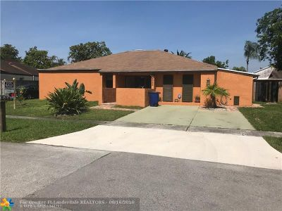Cooper City Single Family Home For Sale: 4989 SW 94 Ter