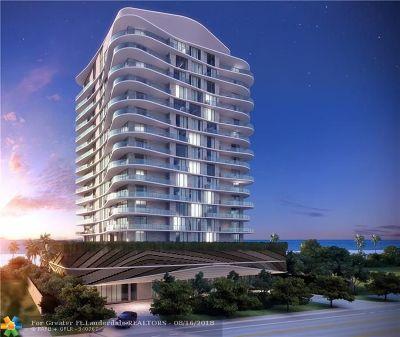 Pompano Beach FL Condo/Townhouse For Sale: $1,375,000