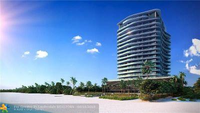 Pompano Beach FL Condo/Townhouse For Sale: $1,900,000