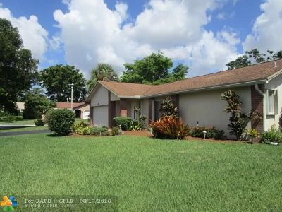 Coral Springs Single Family Home For Sale: 9981 NW 23rd Ct