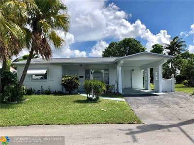Lauderdale Lakes Single Family Home Backup Contract-Call LA: 5070 NW 42nd St