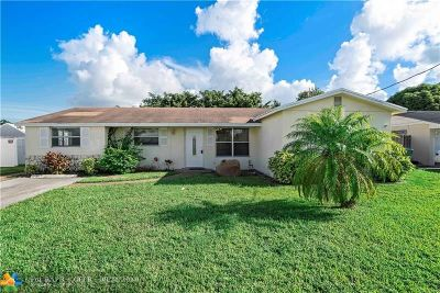 Margate Single Family Home Backup Contract-Call LA: 6821 NW 6th Ct