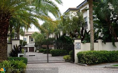 Fort Lauderdale FL Condo/Townhouse For Sale: $575,000