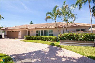 Fort Lauderdale Single Family Home For Sale: 3081 NE 45th St