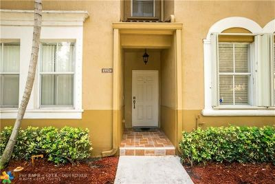 Miramar Condo/Townhouse For Sale: 15524 SW 39 #15524