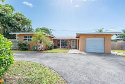 Fort Lauderdale Single Family Home For Sale: 4601 NE 18th Ter