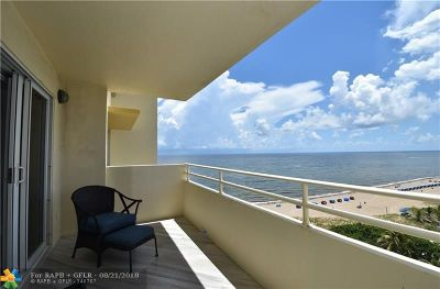 Pompano Beach Condo/Townhouse For Sale: 1610 N Ocean Blvd #1005