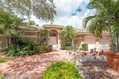 Coral Springs FL Single Family Home For Sale: $564,900