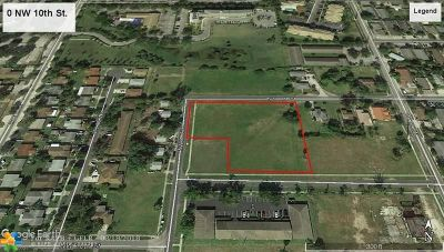Pompano Beach Residential Lots & Land For Sale: NW 10th St